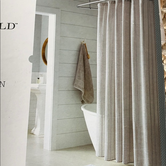 "Threshold Other - Threshold shower curtain 72""x72"""